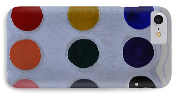 Color From The Series The Elements And Principles Of Art IPhone Case