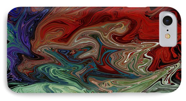Color Fusion To The Ablution Of Delusions  IPhone Case