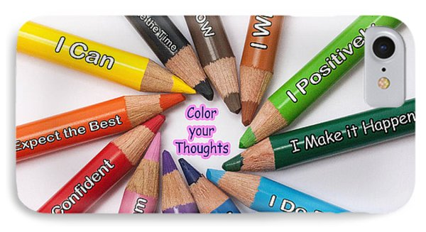 Color Your Thoughts IPhone Case