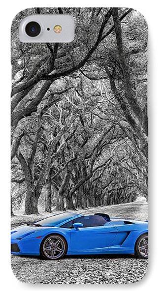 Color Your World - Lamborghini Gallardo IPhone Case