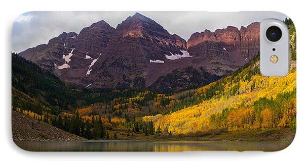 Colorado 14ers The Maroon Bells IPhone Case