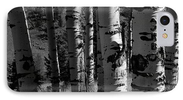 Colorado Aspen Grove II  IPhone Case