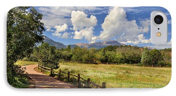 Colorado Scenic Pathway IPhone Case