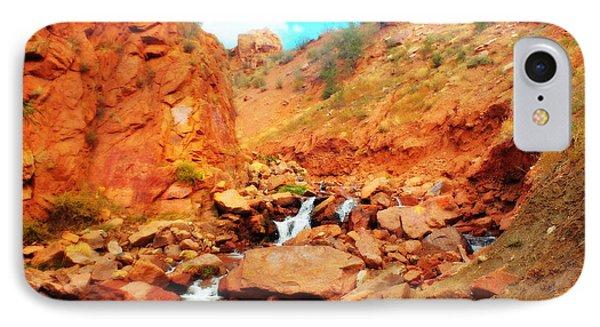 Colored Falls IPhone Case
