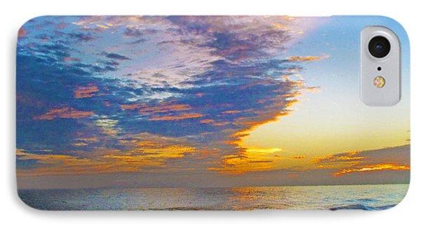 Colored Ocean IPhone Case
