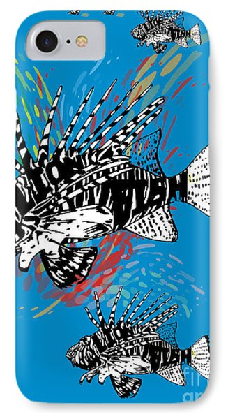 Colored Water IPhone Case