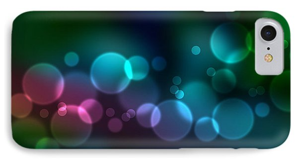 Colorful Defocused Lights IPhone Case