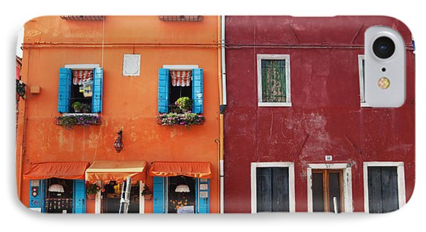 Colorful Houses Of Italy IPhone Case