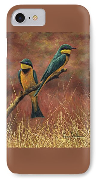 Africa iPhone 8 Case - Colorful Pair by Lucie Bilodeau
