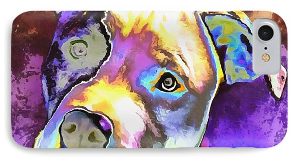 Colorful Pit Bull  IPhone Case
