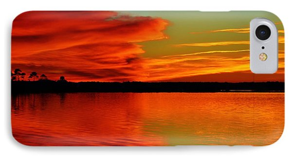 Colorful Reflecting Clouds IPhone Case