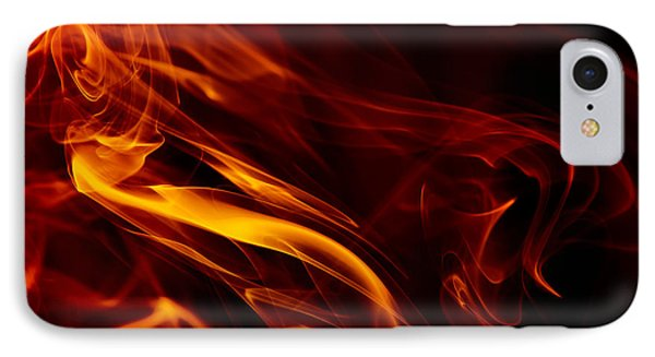 Colorful Smoke Trails IPhone Case