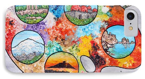 Colori Di Sicilia IPhone Case