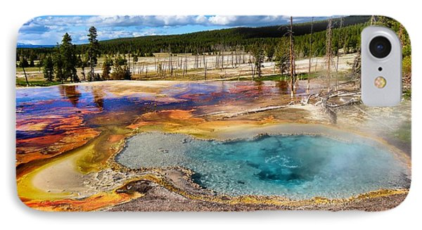 Colors Of Yellowstone National Park IPhone Case