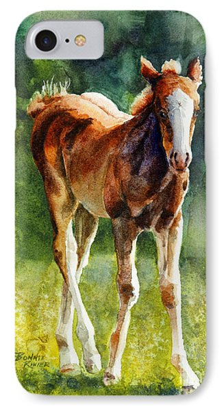 Colt In Green Pastures IPhone Case
