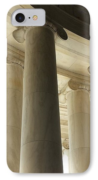 Columns Stand Guard IPhone Case