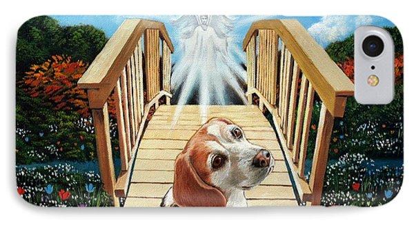 Come Walk With Me Over The Rainbow Bridge IPhone Case