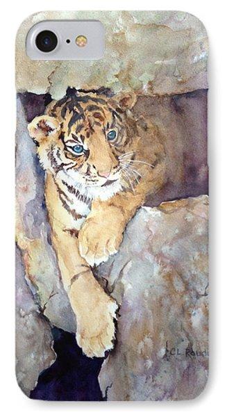 Tiger Cub IPhone Case