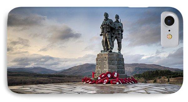 Commando Memorial At Spean Bridge IPhone Case
