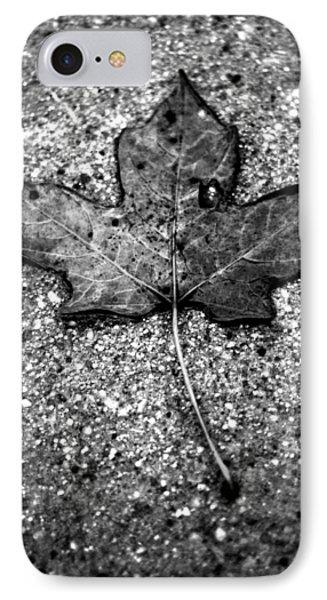 Concrete Leaf IPhone Case