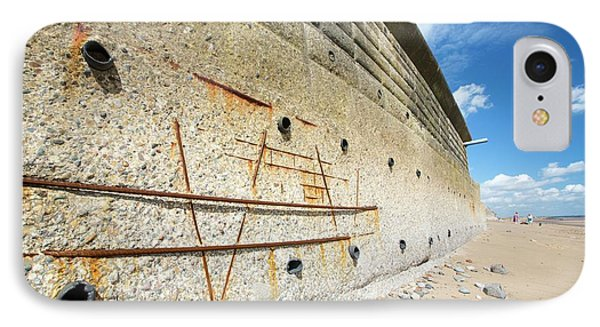 Concrete Sea Defences IPhone Case