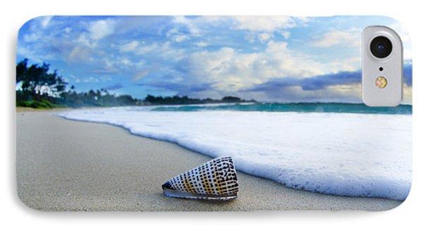 Beach iPhone 8 Case - Cone Foam by Sean Davey