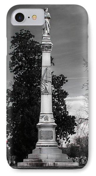 Confederate Monument IPhone Case