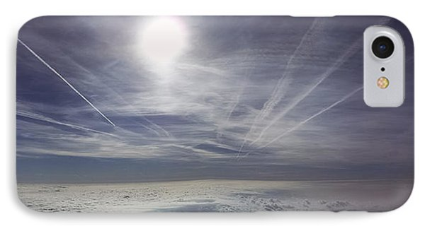 Contrail Panorama IPhone Case