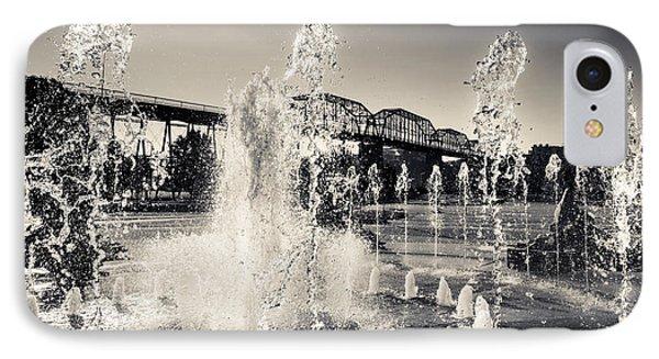 Coolidge Park Fountains IPhone Case
