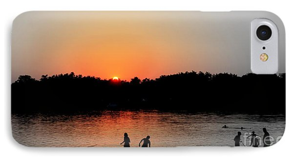 Cooling At Silver Lake Wilmington Ma IPhone Case