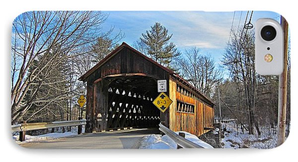 Coombs Covered Bridge IPhone Case