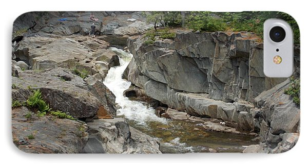 Coos Canyon In Maine IPhone Case