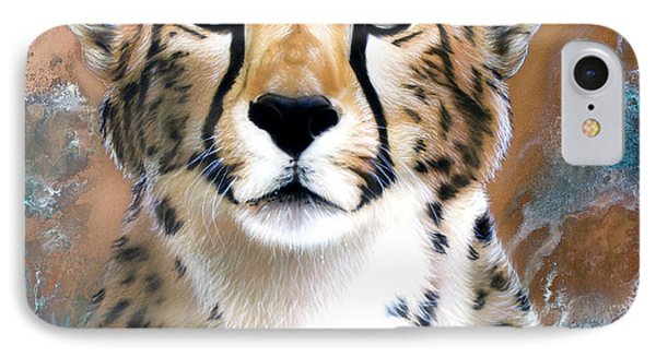 Copper Flash - Cheetah IPhone Case