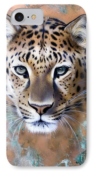 Copper Stealth - Leopard IPhone Case