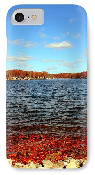 Cordry Lake In The Fall IPhone Case