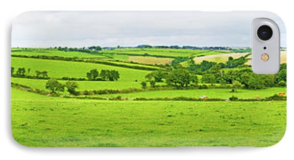 Cornwall Panorama Color IPhone Case