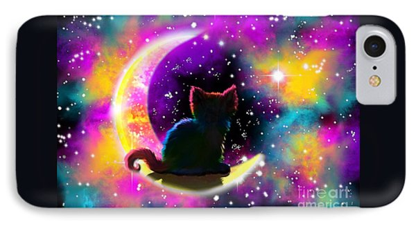 Cosmic Cat IPhone Case