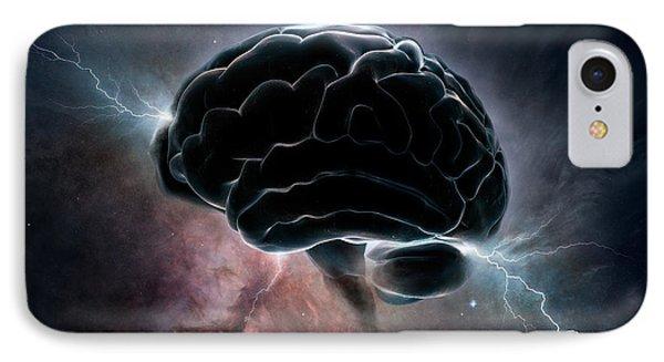 Cosmic Intelligence IPhone Case