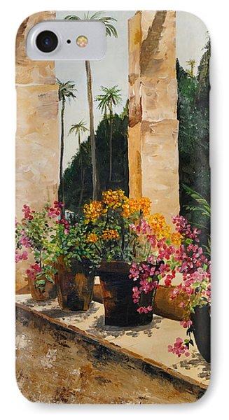 Costa Rica Floral IPhone Case