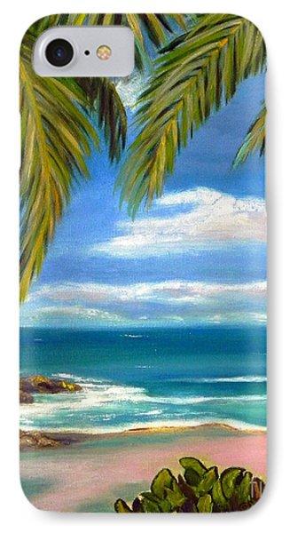 Costa Rica Rocks   Costa Rica Seascape  IPhone Case