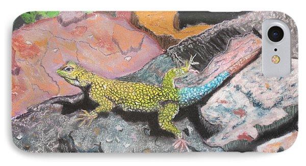 Costa Rican Lizard IPhone Case