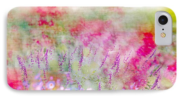 Cottage Garden Impressionism IPhone Case