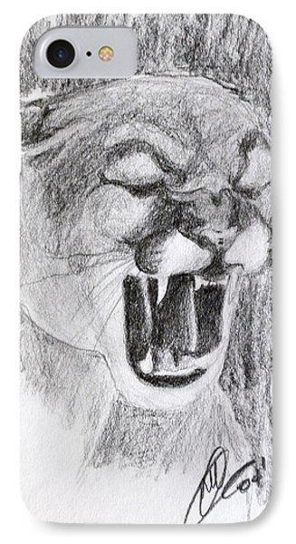 Cougar 2 IPhone Case
