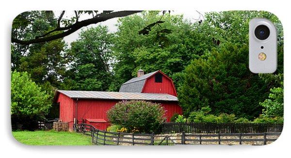 Country Barn Vineyard IPhone Case