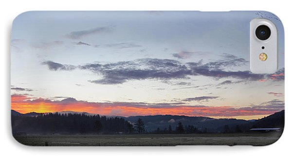 Country Sunrise IPhone Case