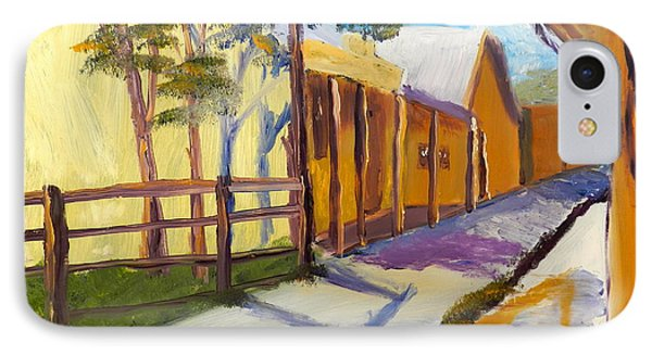 Country Village IPhone Case