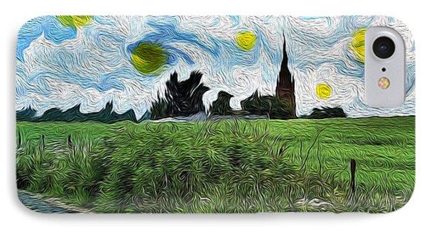 Countryside Impressioniism IPhone Case