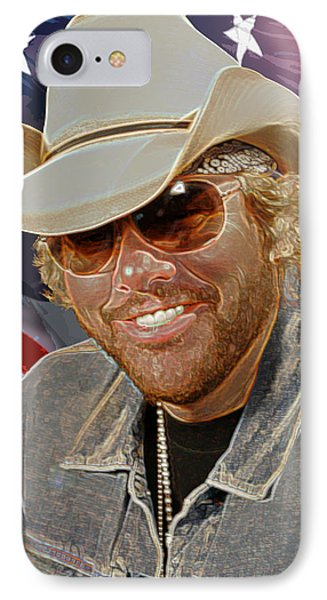 Courtesy Of The Red White And Blue  Toby Keith IPhone Case