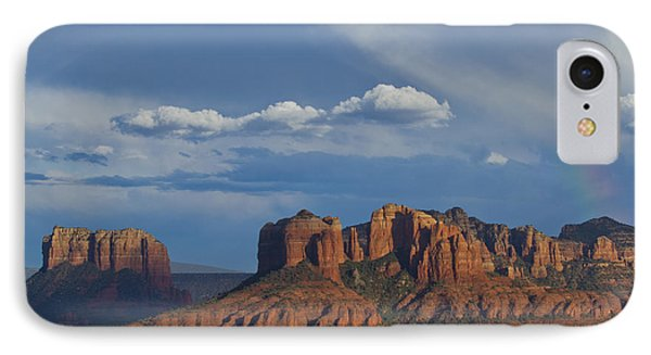 Courthouse And Cathedral Rocks IPhone Case