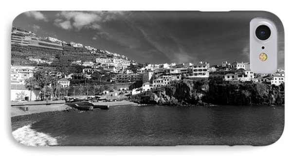 Cove In Black And White IPhone Case